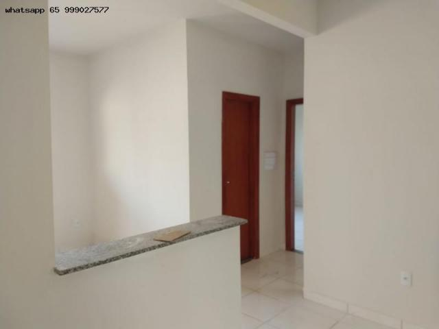 Casa para venda em várzea grande, santa isabel, 2 dormitórios, 1 banheiro, 2 vagas - Foto 4