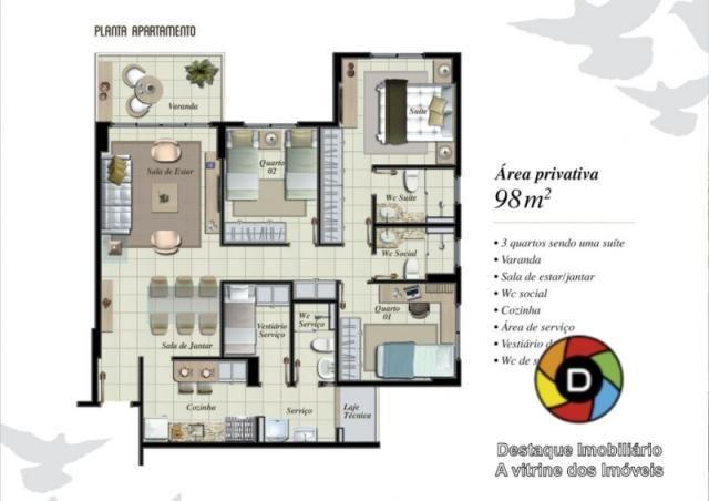 Apartamento no residencial passaredo - Foto 17