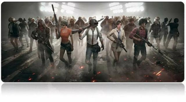 MousePad Mouse Pad Gamer Extra Grande 70X35cm Tema Battlegrounds PUBG - Foto 2