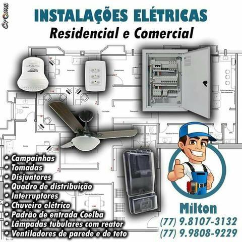 Milton Eletricista em Barreiras Bahia