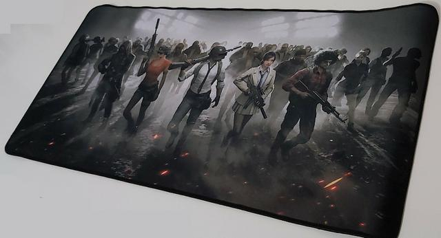 MousePad Mouse Pad Gamer Extra Grande 70X35cm Tema Battlegrounds PUBG