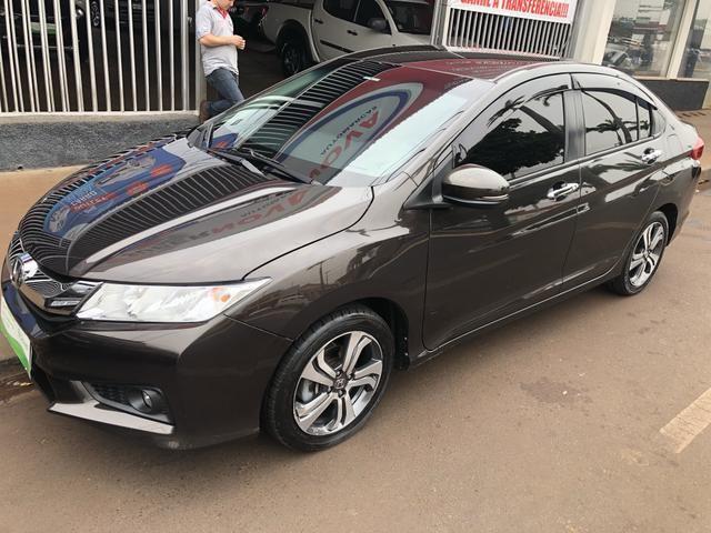 Honda city 1.5 flex exl aut 15/15