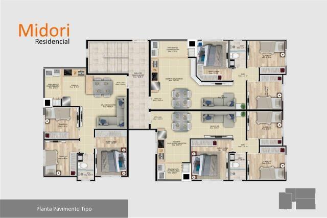 Apartamento 3 dormitórios em São José dos Pinhais - Foto 6