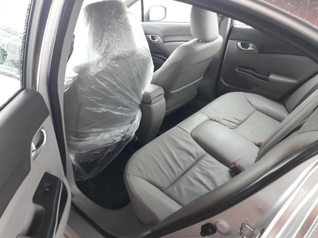 Civic lxr 2.0 automático ano 2014 completao com garantia e ipva quitado - Foto 8