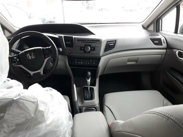 Civic lxr 2.0 automático ano 2014 completao com garantia e ipva quitado - Foto 13