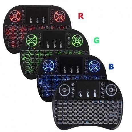 Mini Teclado Wireless Keyboard com Touchpad para SmartTv, Smartphone, Tv Box, Computador - Foto 2