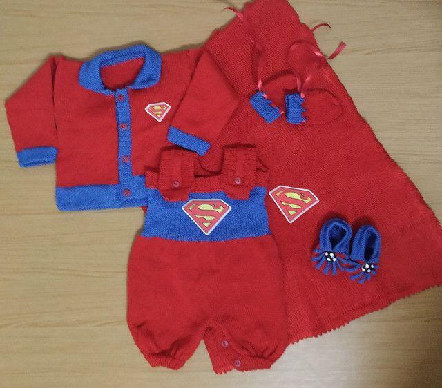 Saída de maternidade completa do Super Homem ? - Foto 2