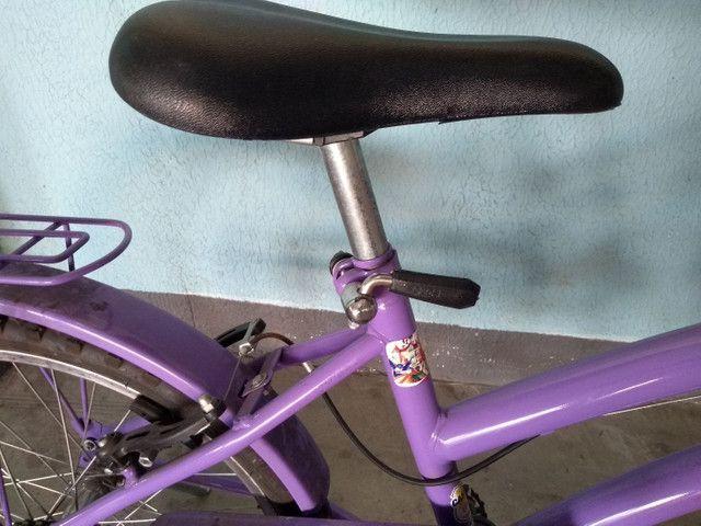 Bicicleta infantil princesa Sophia - Foto 4
