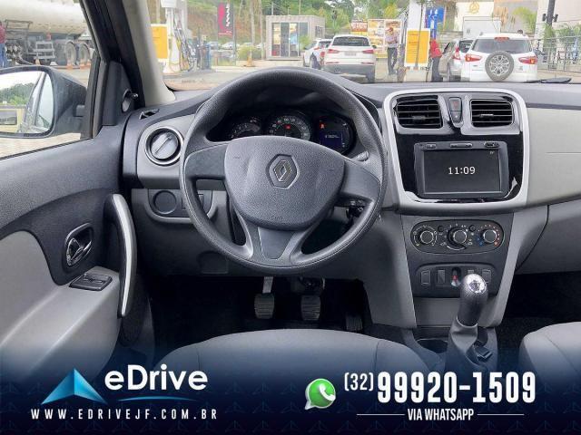Renault Logan Expression Flex 1.6 16V 4p - Muito Espaçoso - Uber - Família - Novo - 2020 - Foto 9
