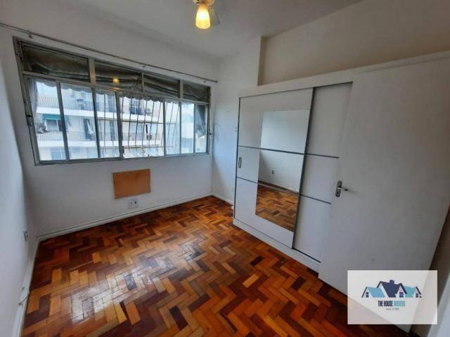 Excelente Apartamento com 1 dormitório 2 banheiros  para alugar, 50 m² por R$ 1.100/mês -  - Foto 2