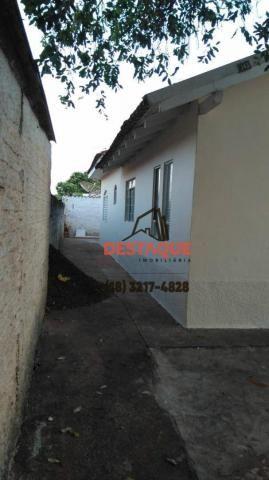 Casa com 2 dormitórios para alugar, 74 m² por R$ 800,00/mês - Conjunto Habitacional Ana Ja