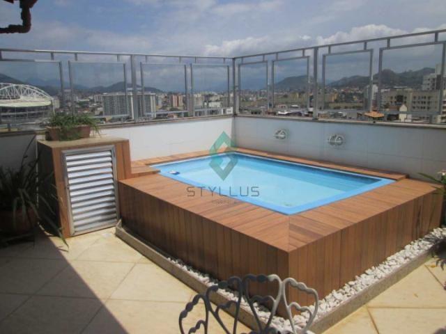 Cobertura à venda com 3 dormitórios em Cachambi, Rio de janeiro cod:M6245