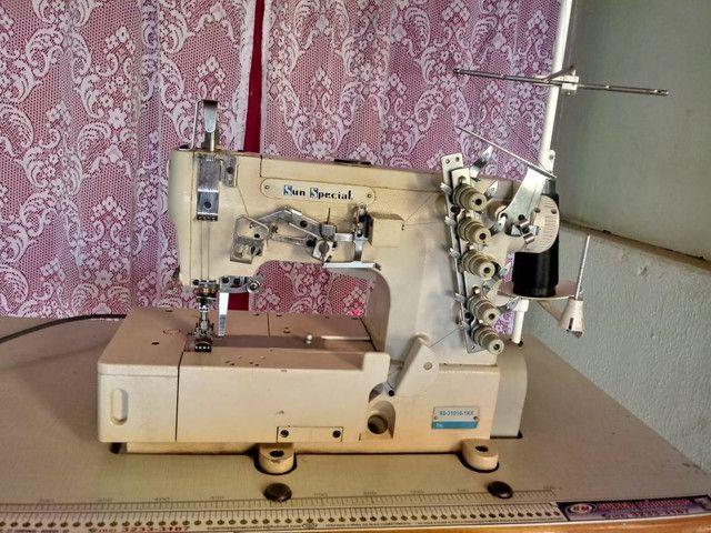 Máquina de costura GALONEIRA INDUSTRIAL - Foto 4