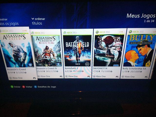 Xbox 360 com hd de 240  - Foto 4