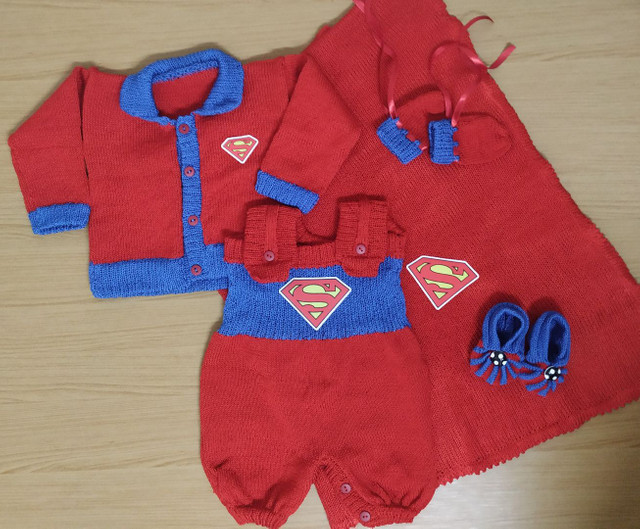 Saída de maternidade completa do Super Homem ?
