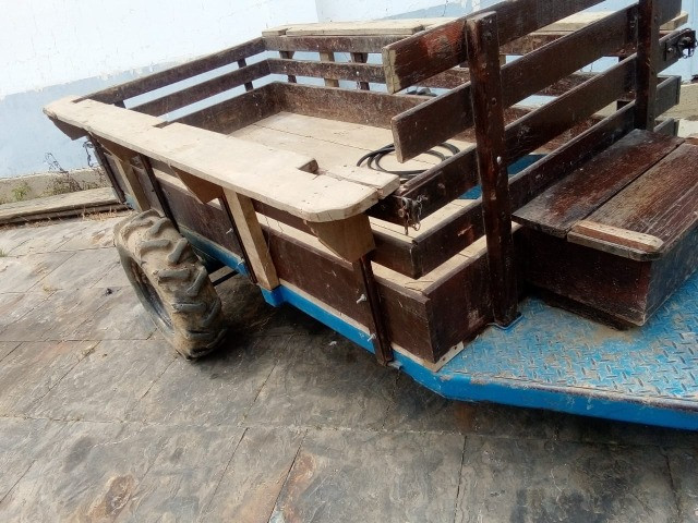 Tobatta -Yanmar TC11 ano 92 com carreta traçada Moldemaq - Foto 6