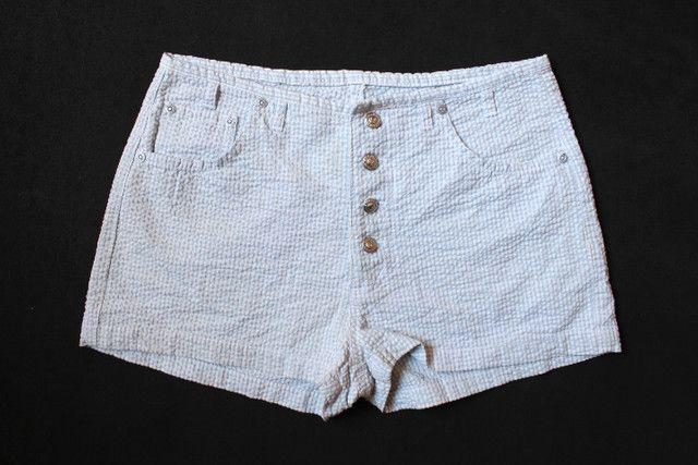 Lote Mom Jeans Vintage CGC Calças e Shorts 15 Peças - Foto 3