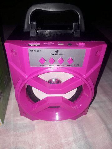 Caixa De som portátil Bluetooth  - Foto 2
