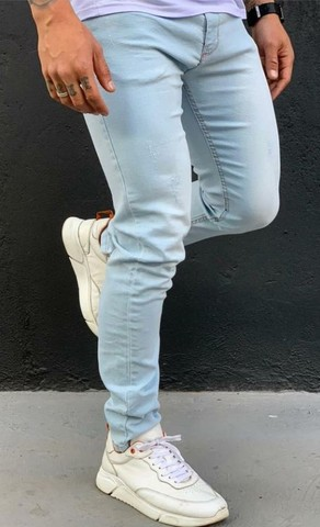 Calça jeans masculina a pronta entrega - Foto 2