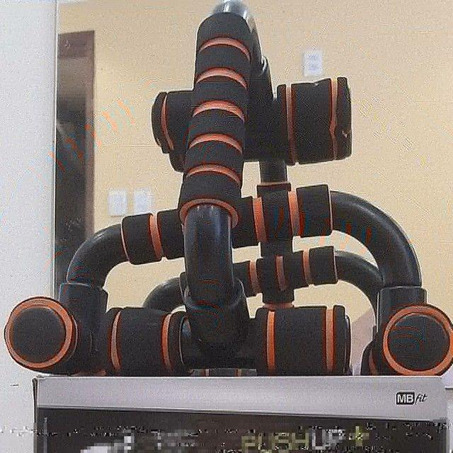 Barra de apoio de flexão de braços - Foto 4