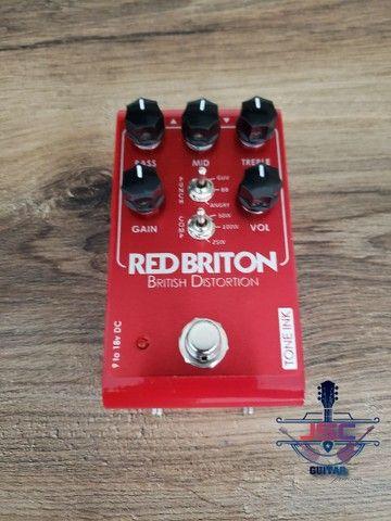 Pedal Red Briton distortion  - Foto 4
