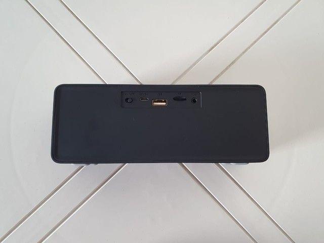 Caixinha de Som Portátil Via Bluetooth 6W - Foto 6