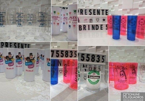 Copos e taças acrilicos personalizados - Foto 2