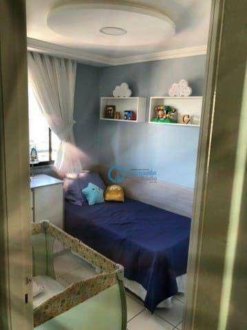 Apartamento com 3 dormitórios à venda, 74 m² por R$ 420.000 - Cocó - Fortaleza/CE - Foto 10