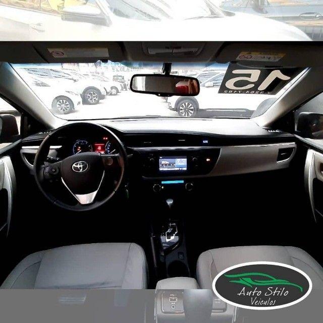 Toyota Corolla  2.0 2014/2015 Preto Completo  - Foto 3