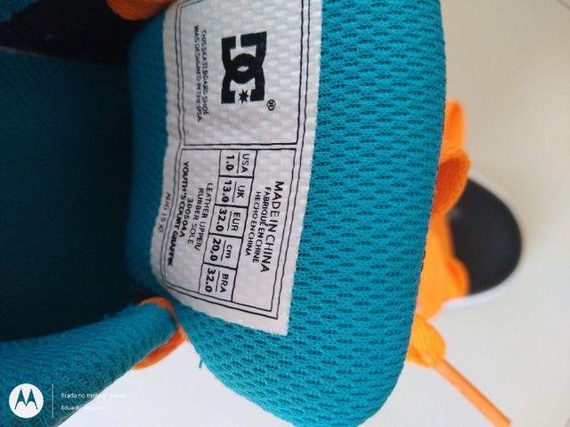 Tênis DC Shoes infantil - Foto 5
