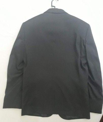 Blazer Slim Fit 46 / M Cia do Terno. Preto. Novo. Zero. No plástico! - Foto 4