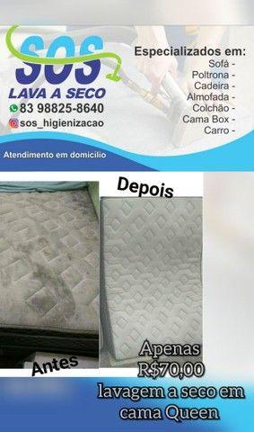 SOS HIGIENIZAÇÃO A SECO /GARANTIMOS O SERVIÇO PREÇO BAIXOU / BORA APROVEITAR - Foto 3