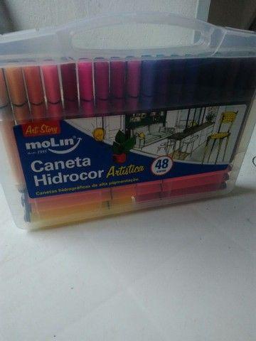 Caneta Hidrocor moLin - Foto 6