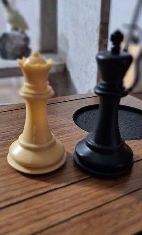 Peças de xadrez Staunton lindas - Foto 4