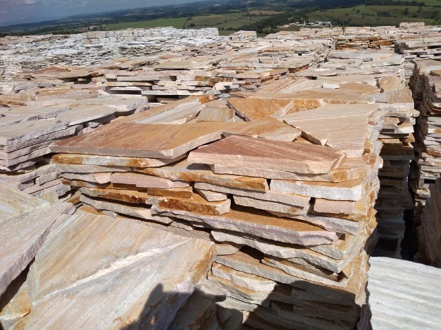 Caco de Pedra São Tomé Amarelo Irregular - Foto 2