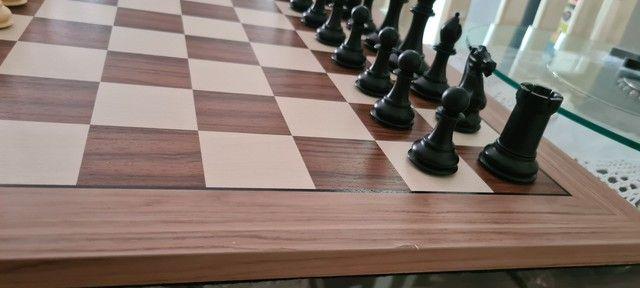 Peças de xadrez Staunton lindas - Foto 5