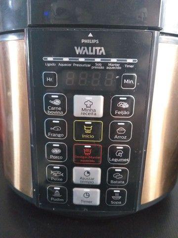 Panela de pressão Elétrica Philips walita aceito cartão  - Foto 2