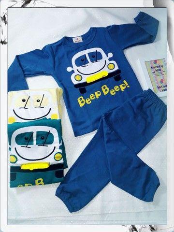 Pijamas menino é menina - Foto 2