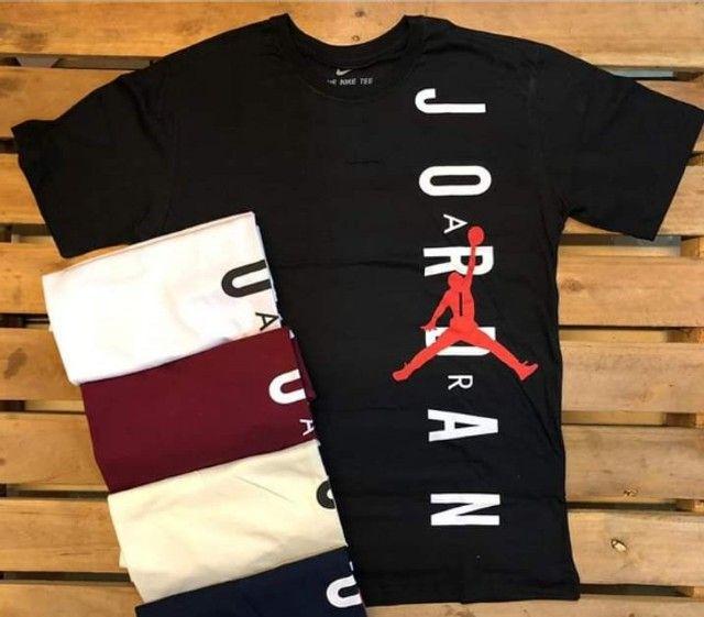 Camisa Jordan Algodão premium
