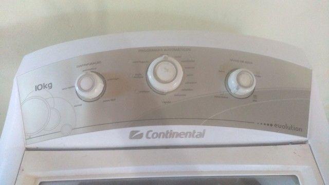Máquina de lavar roupas continental 10 kg - Foto 3