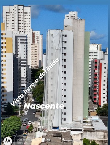 Saia do aluguel andar alto vista definida 2 qts + suíte Setúbal Recife PE - Foto 13