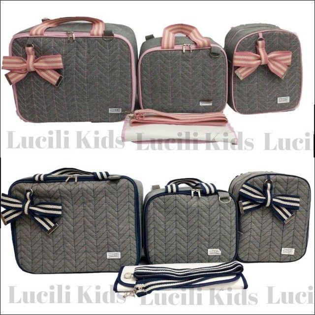 Kit Bolsas Maternidade luxo