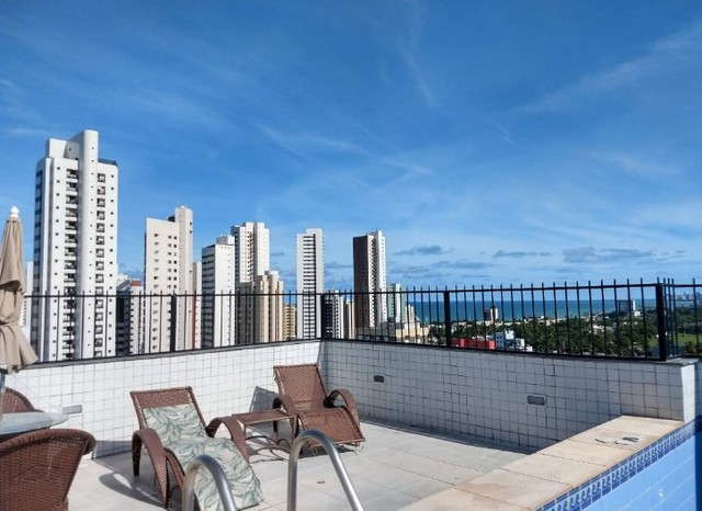 Saia do aluguel andar alto vista definida 2 qts + suíte Setúbal Recife PE - Foto 17