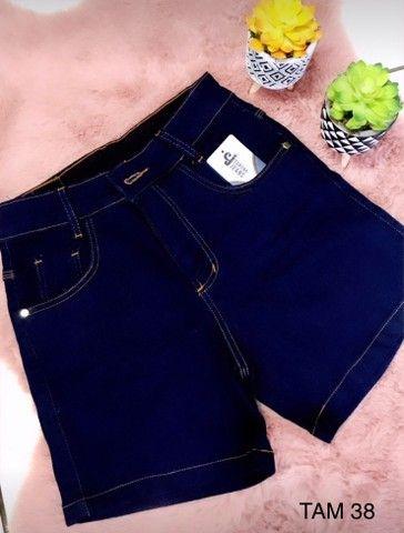 Shorts Jeans Feminino - Foto 2