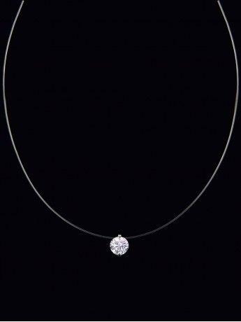 Colar Gargantilha ponto de luz no fio de Nylon com 45 cm/Vem com Um lindo Brindedis - Foto 2