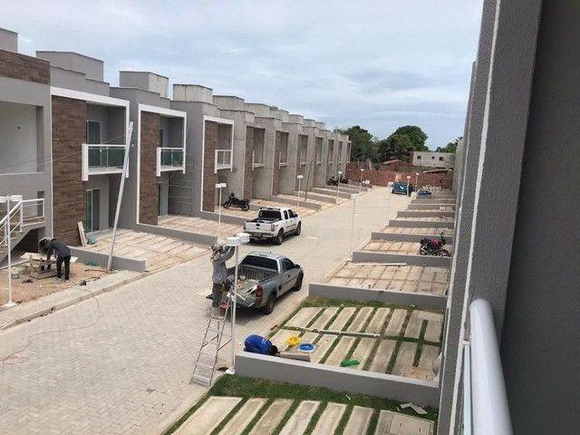 Casas em condomínio fechado  3 suítes pertinho do centro de Eusébio  #ce11 - Foto 4