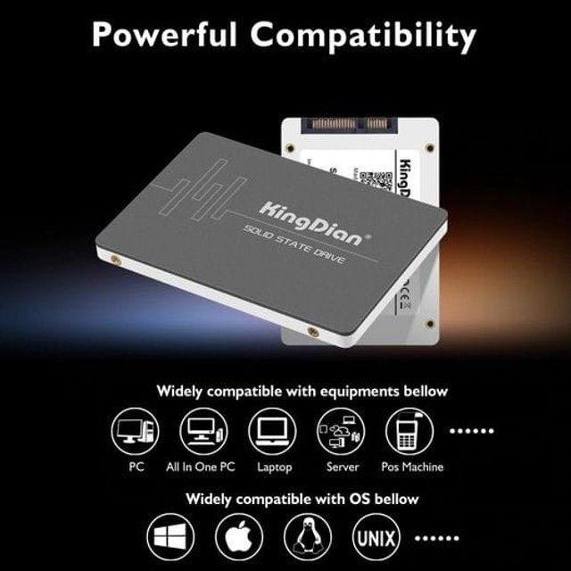 Ssd KingDian 120gb / 128gb / 240gb / 256gb Sata III - Notebook e PC Gamer - Foto 6