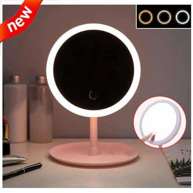 Espelho com Luz de Led P/Maquiagem Ajustável - Foto 3