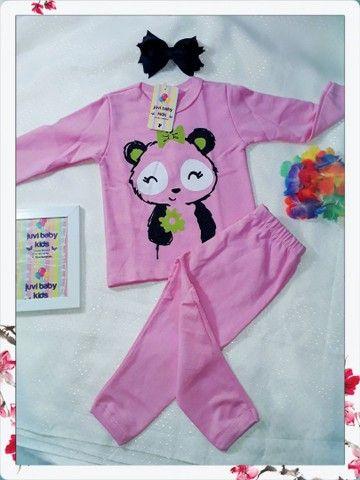 Pijamas menino é menina - Foto 5