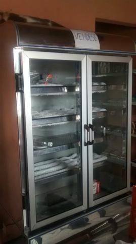 Freezer expositor Vertical inox